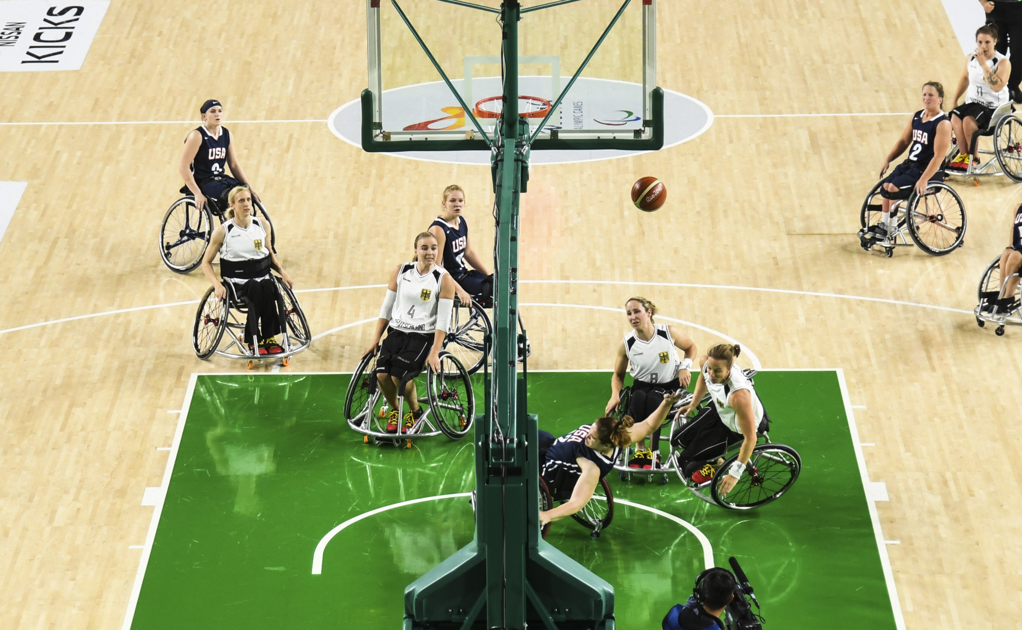 Wheelchair basketball was recently added to the British Universities and Colleges Sport programme ©Getty Images