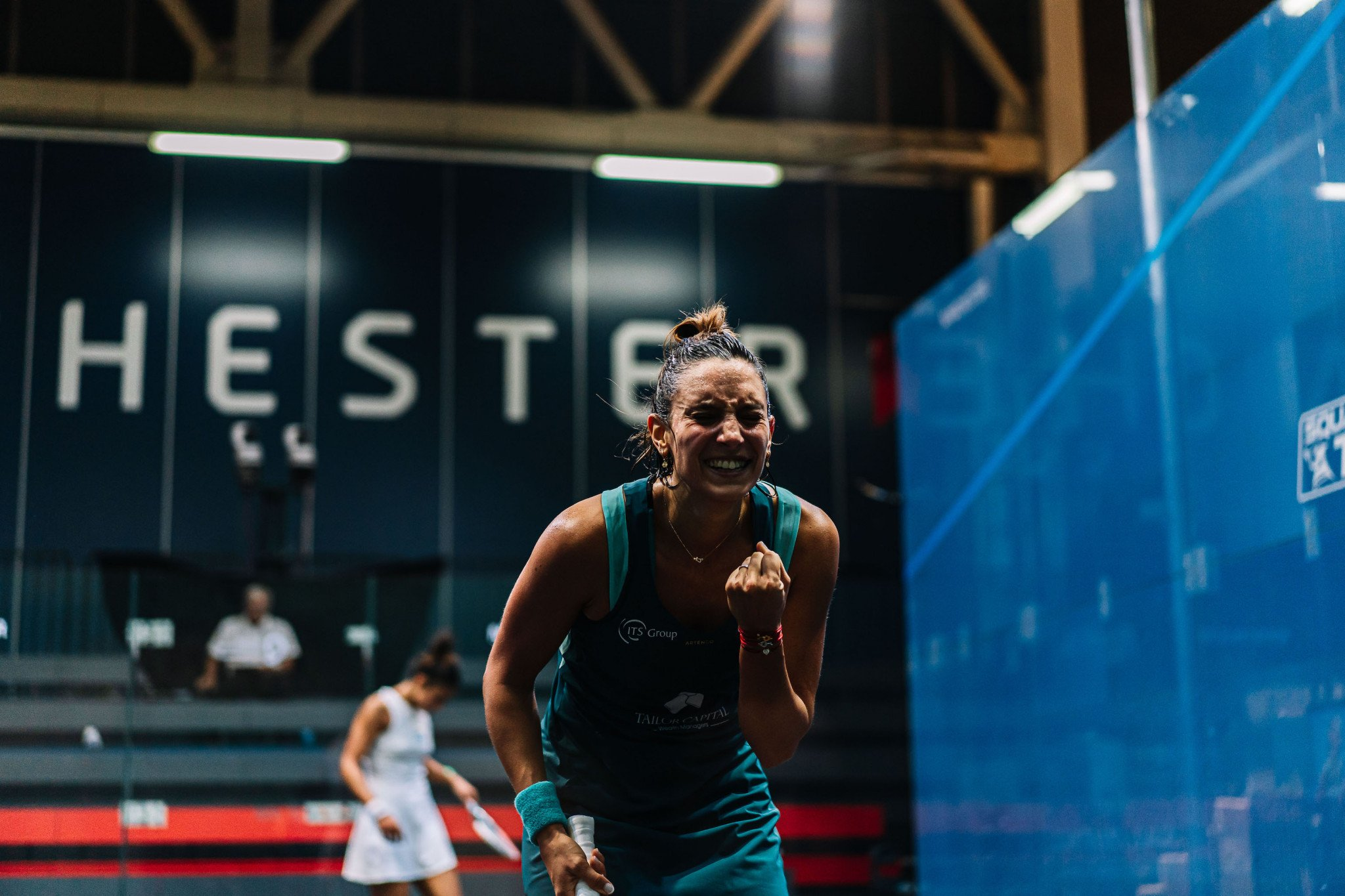 Top seeds Serme and ElShorbagy win five-game Manchester Open semi-finals