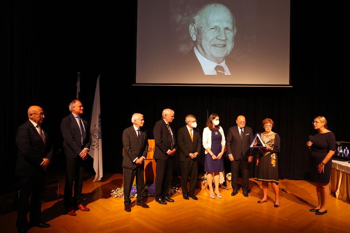 A memorial ceremony for Janez Kocijančič was held in Ljubljana ©Ales Fevzer ph/ NOC of Slovenia