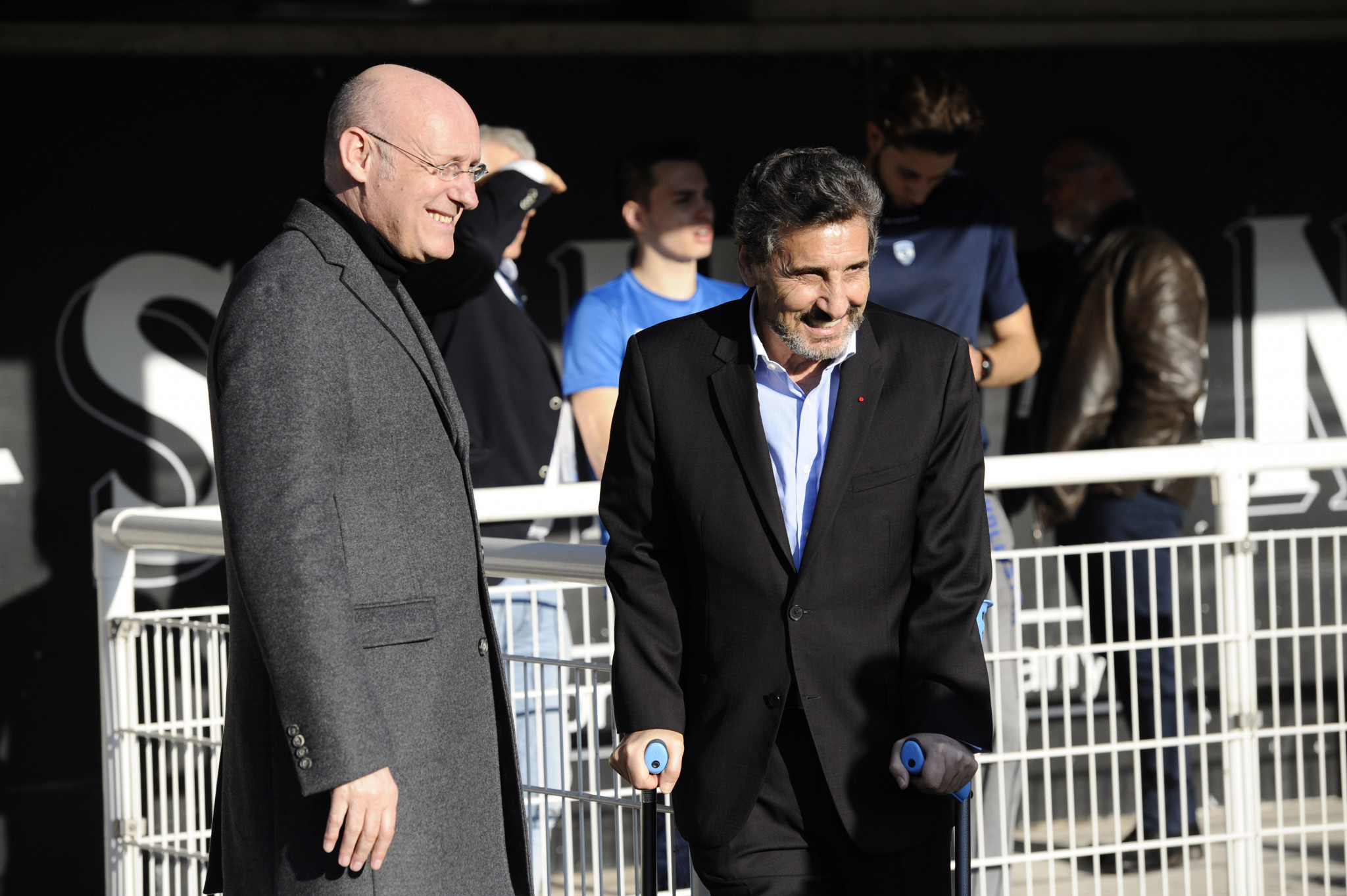 Bernard Laporte fait l'objet d'une enquête pour des liens avec le propriétaire montpelliérain Mohed Altrad © Getty Images