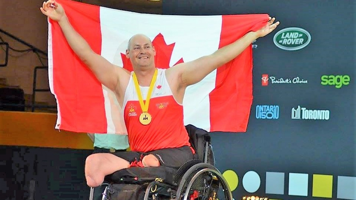 Mike Trauner is among the recipients of the FACE grants ©Canadian Paralympic Committee