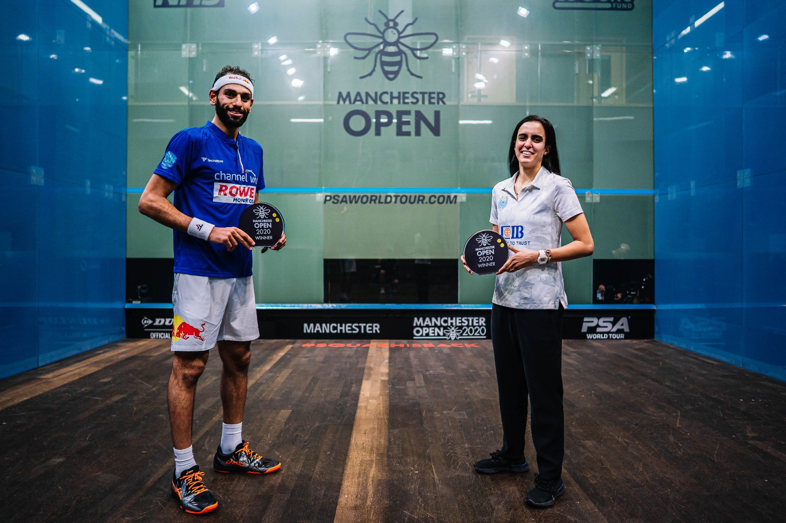 ElShorbagy and El Tayeb victorious in PSA Manchester Open finals