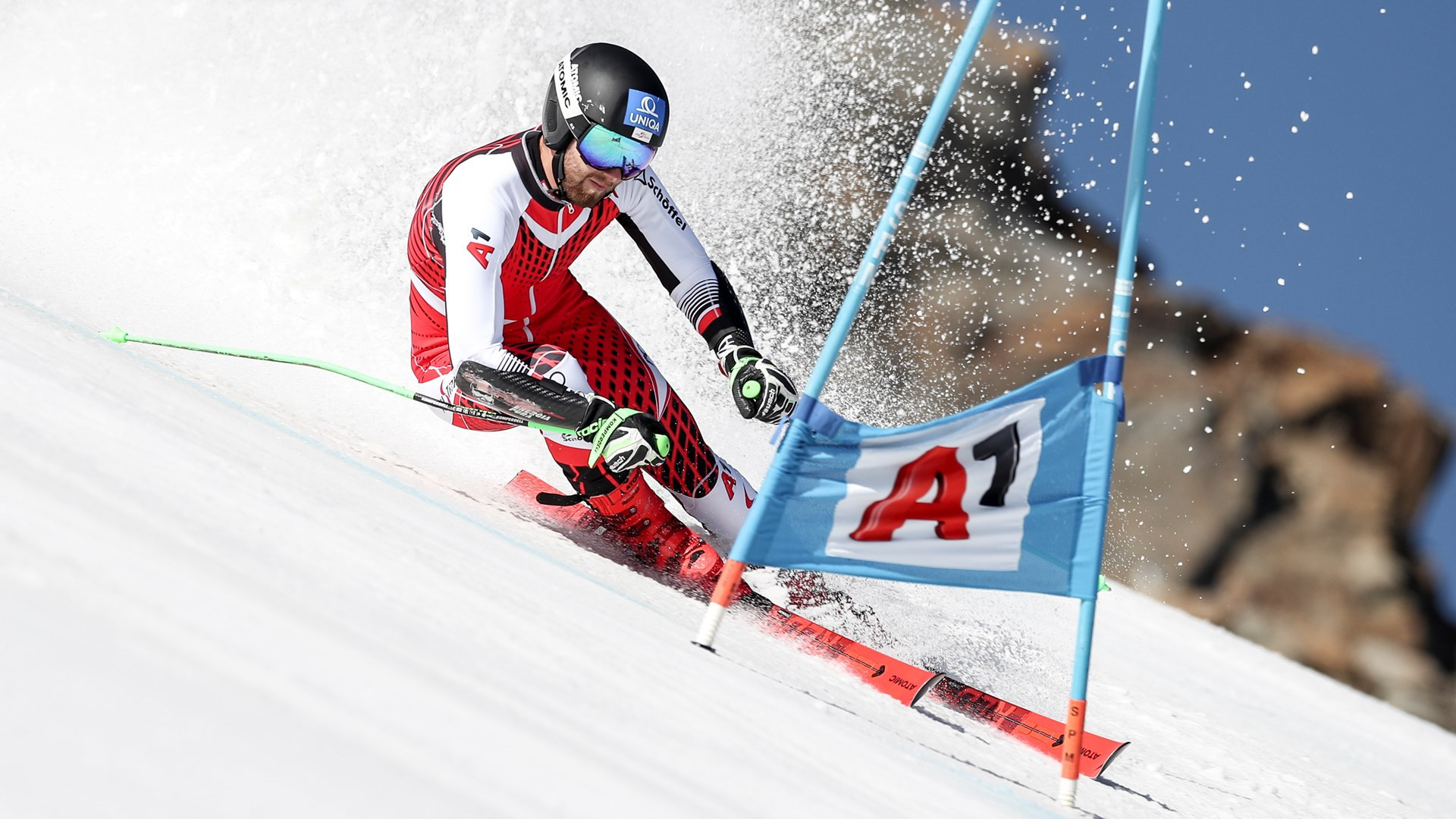 Exclusive training session held for Austrians a month before Ski World Cup