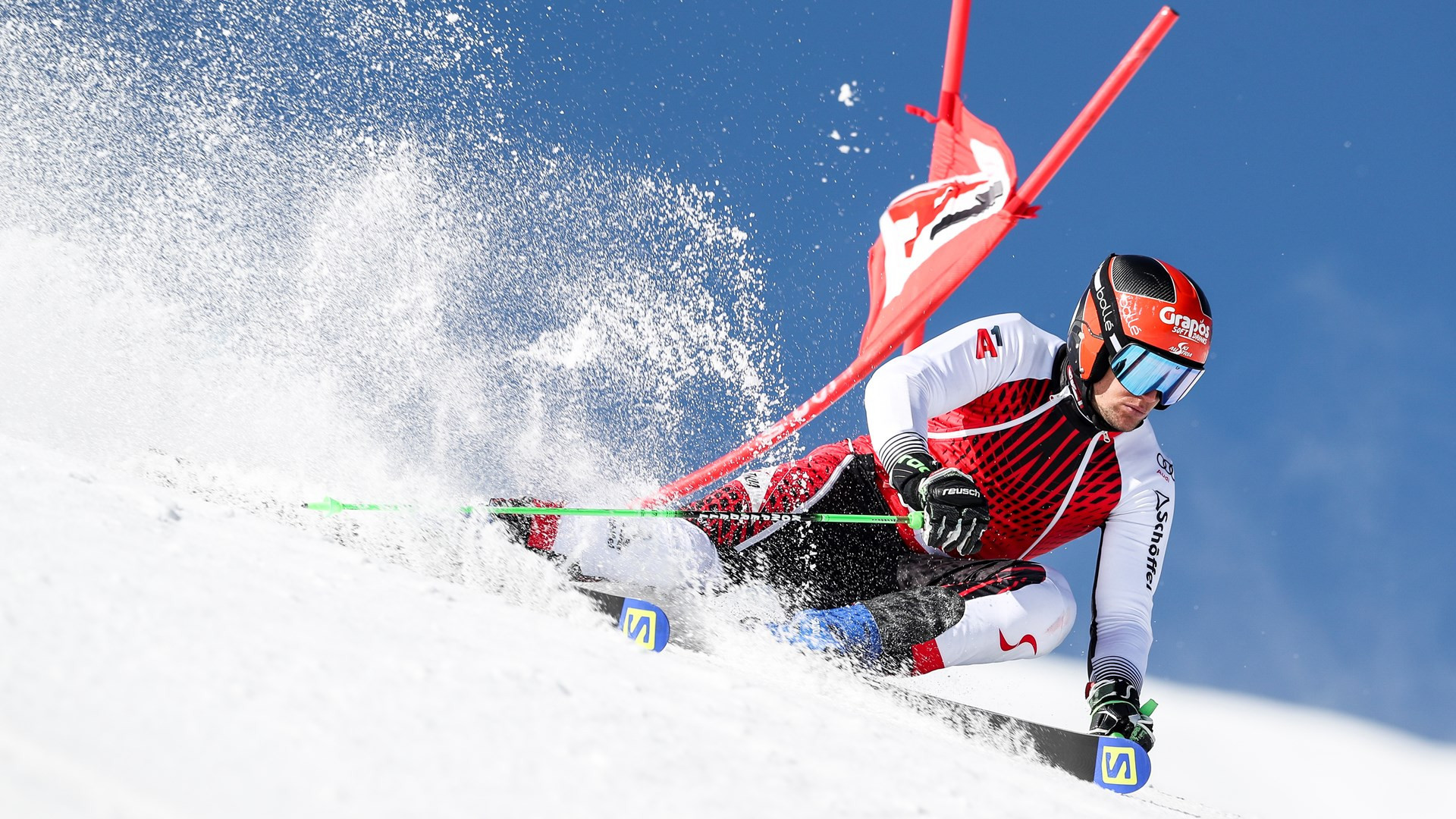 Roland Leitinger was pleased with his efforts at altitude ©Ski Austria