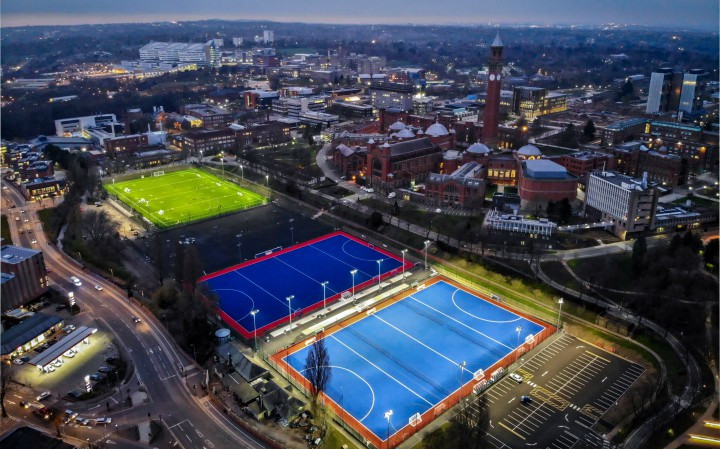 The University of Birmingham is due to host hockey and squash during the 2022 Commonwealth Games, as well as being the principal campus village ©University of Birmingham