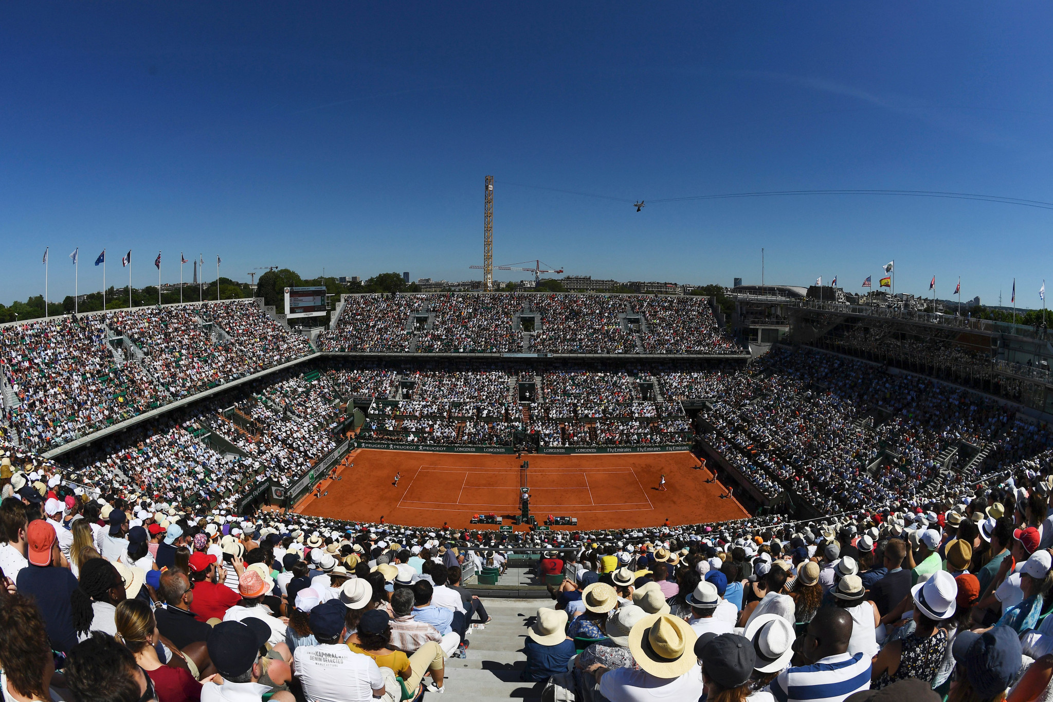 French Open organisers prepare to cut crowd limit to 1000