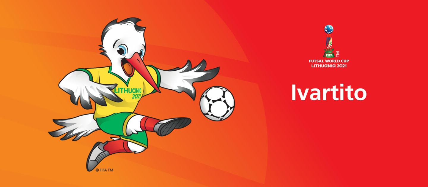 Dancing stork revealed as FIFA Futsal World Cup 2021 mascot