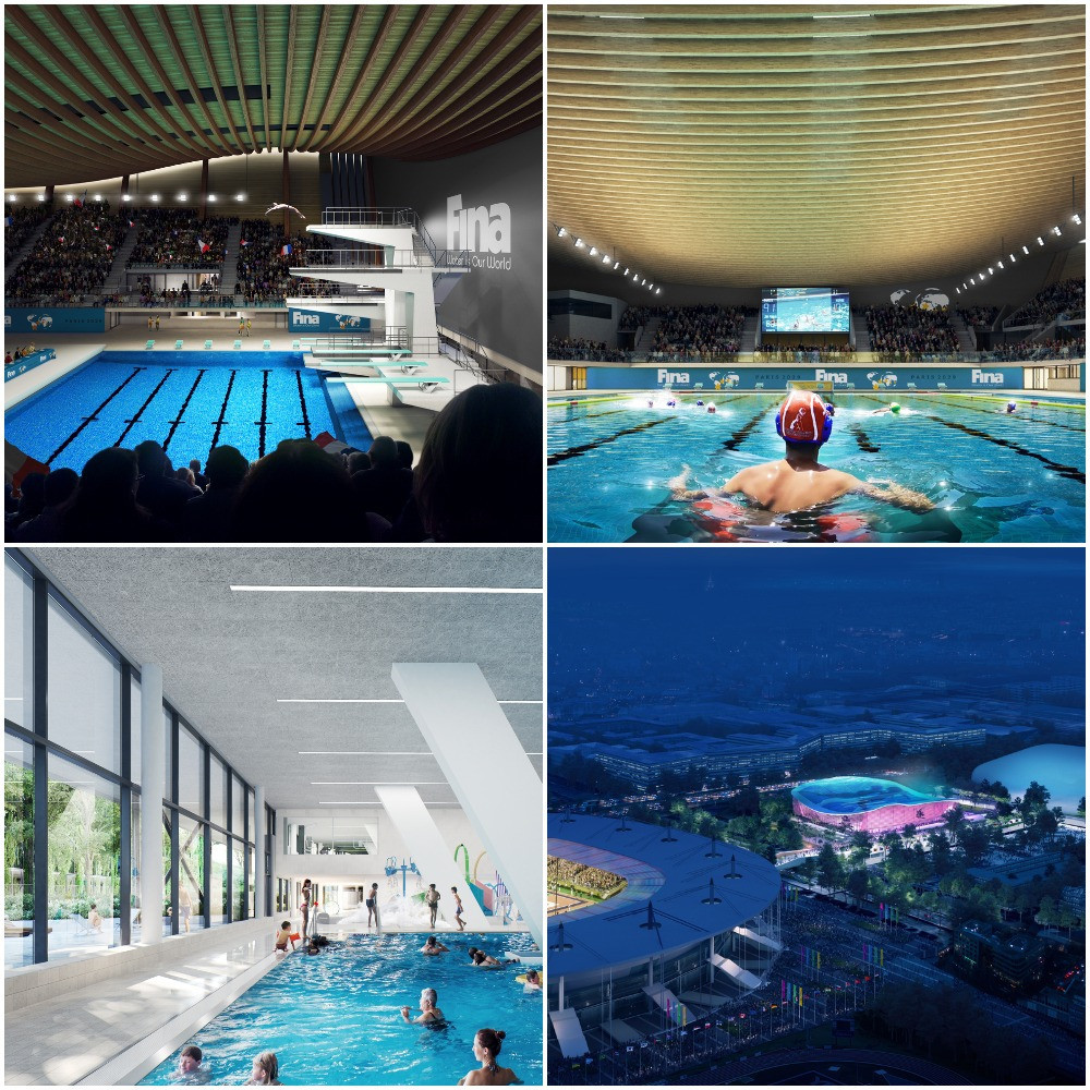 Diving, water polo and synchronized swimming events are set to be staged at the Aquatics Centre ©Proloog