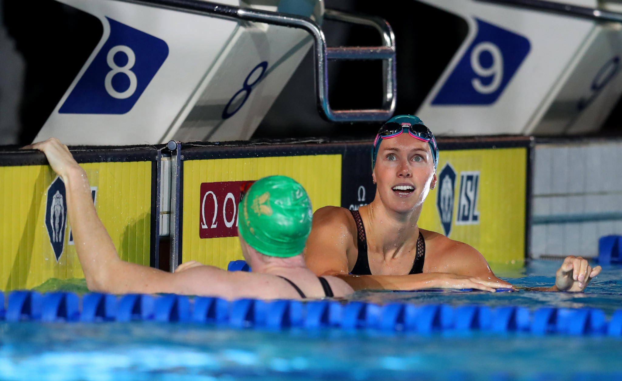 Emma McKeon was among a number of Australian swimmers that have decided not to take part in this year's International Swimming League ©Getty Images