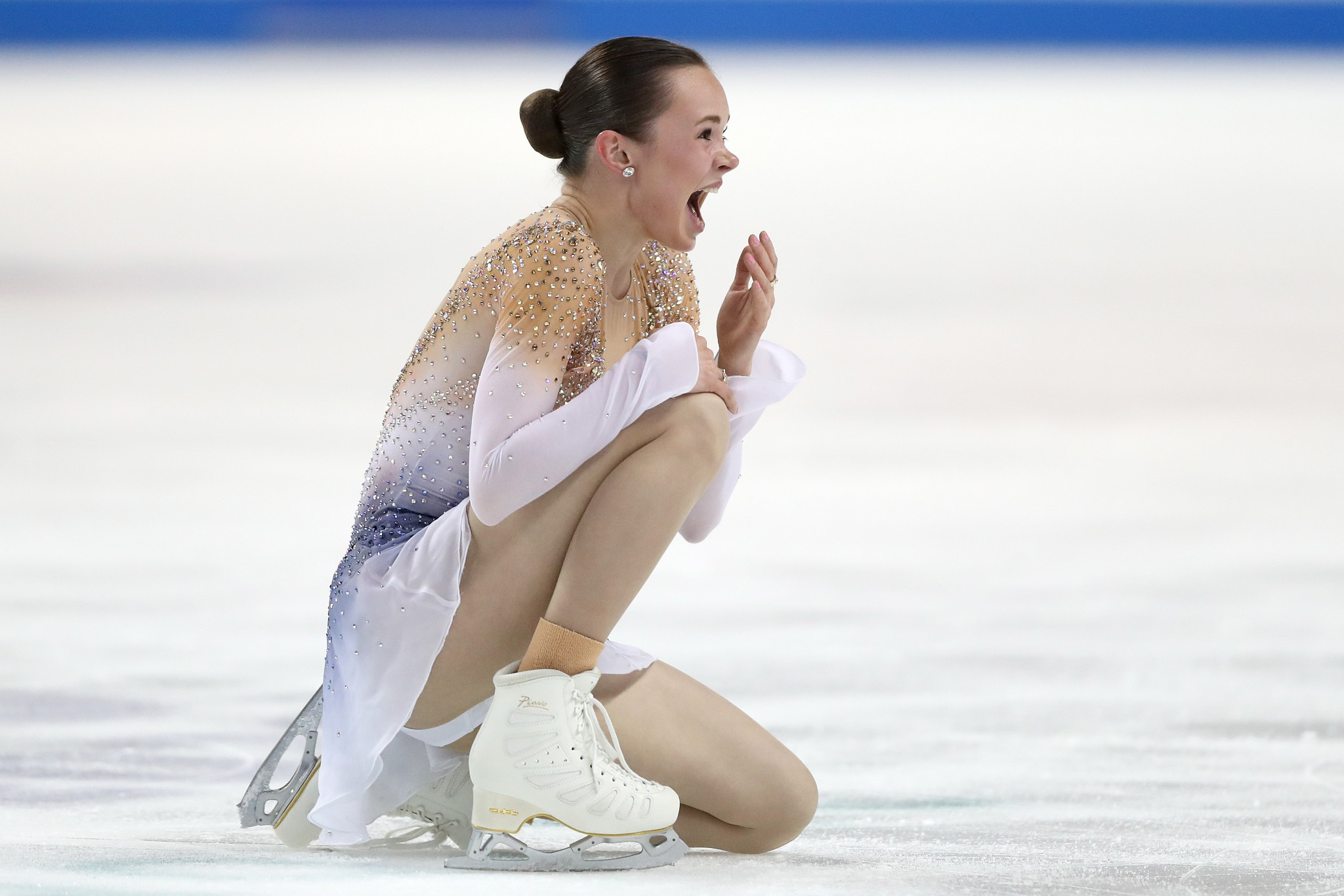 Mariah Bell triumphed in the women's online competition set up by US Figure Skating ©Getty Images
