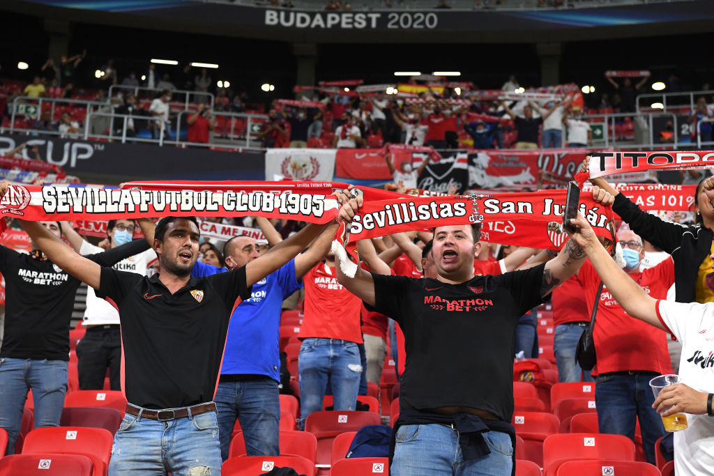 More than 15,000 fans in attendance as Bayern beat Sevilla to win UEFA Super Cup