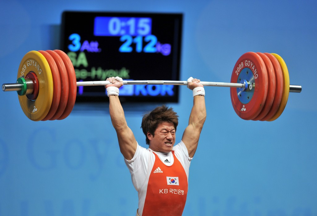 South Korean Olympic weightlifting gold medallist banned for 10 years following alleged assault