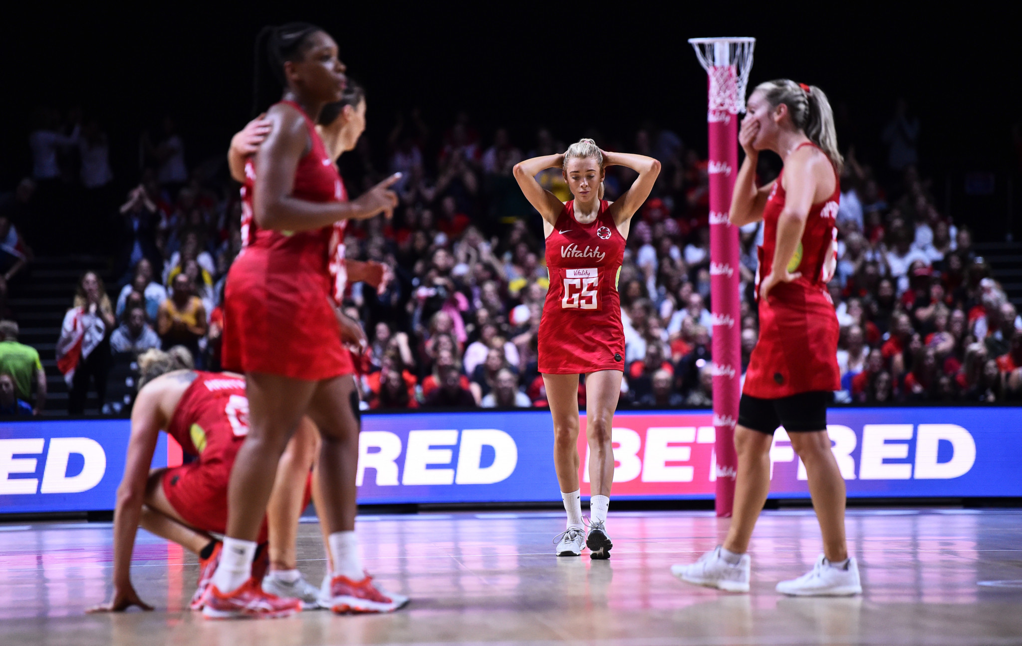 England were knocked out of last year's Netball World Cup by New Zealand ©Getty Images