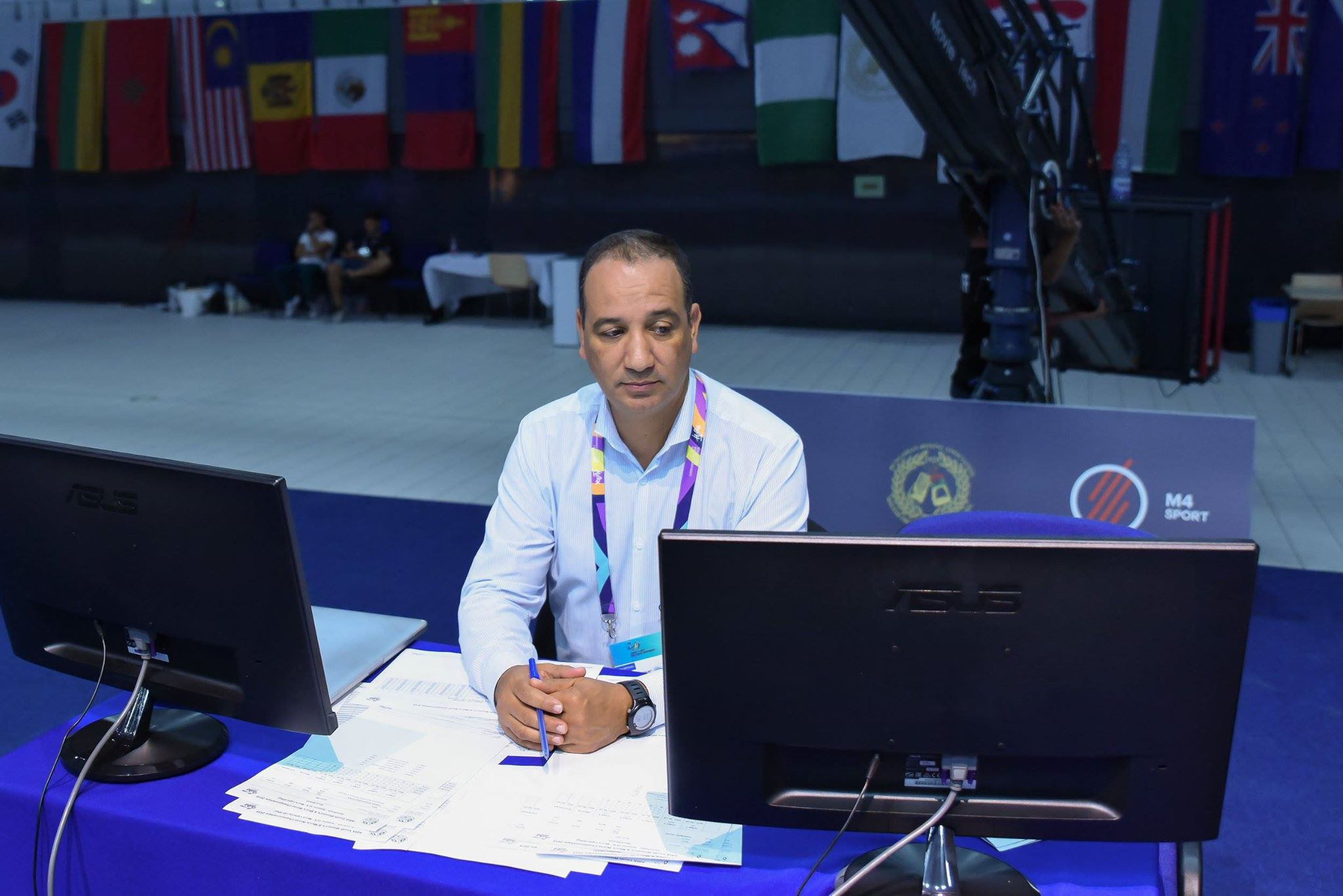 Mohamed Moustahsane remains interim President of AIBA ©AIBA