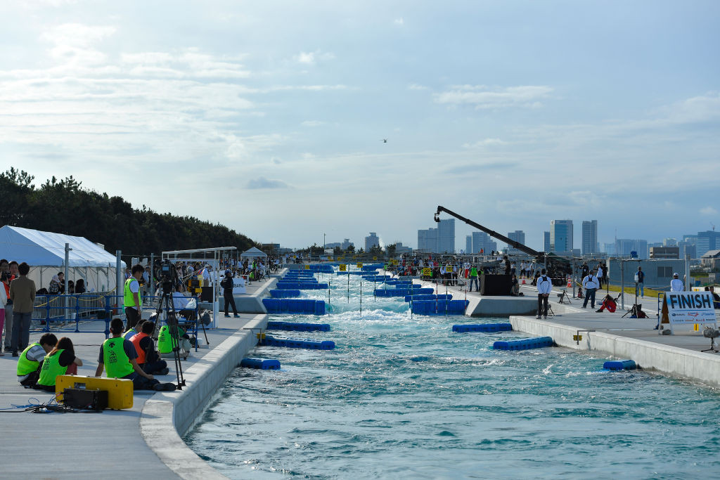 The Kasai Canoe Slalom Centre will be opened to the public from next week ©Getty Images