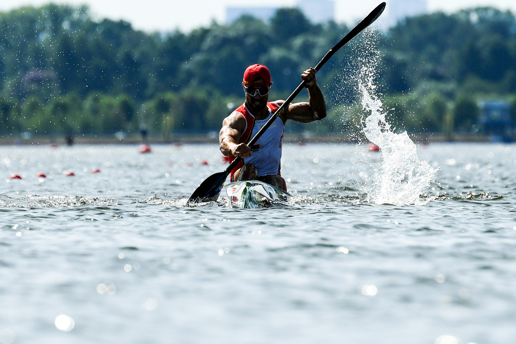World champions Harrison and Kopasz reach finals at Szeged Canoe Sprint World Cup