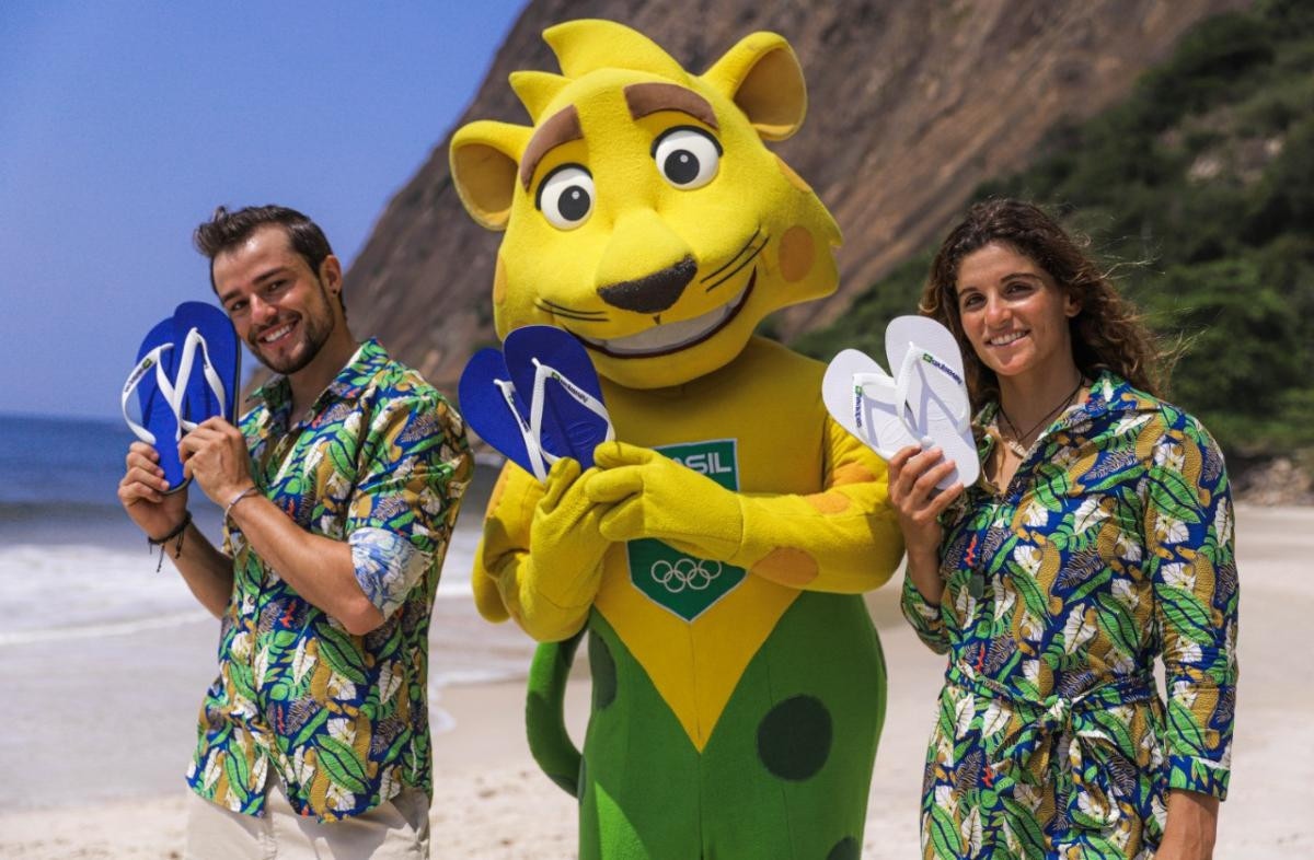 Brazil to parade in flip-flops during Tokyo 2020 Opening Ceremony after COB sign deal with Havaianas