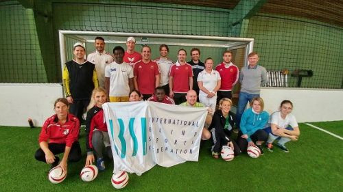 Introductory workshops and training sessions held in Austria in 2016 paved the way for the creation of the women's team ©IBSA