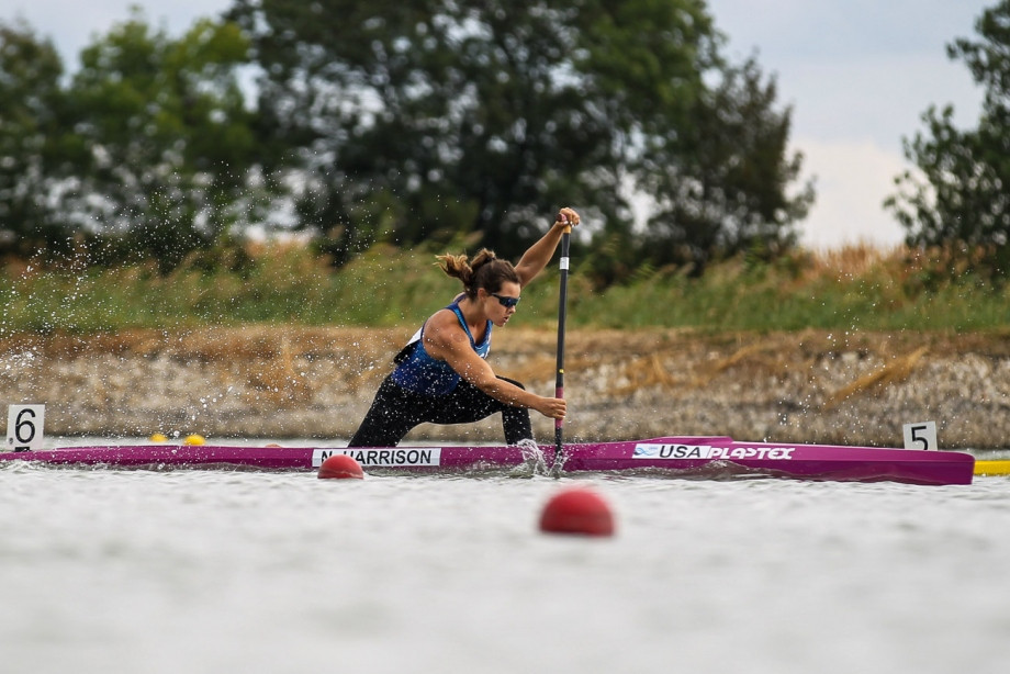 Harrison clinches gold at Canoe Sprint World Cup in Szeged