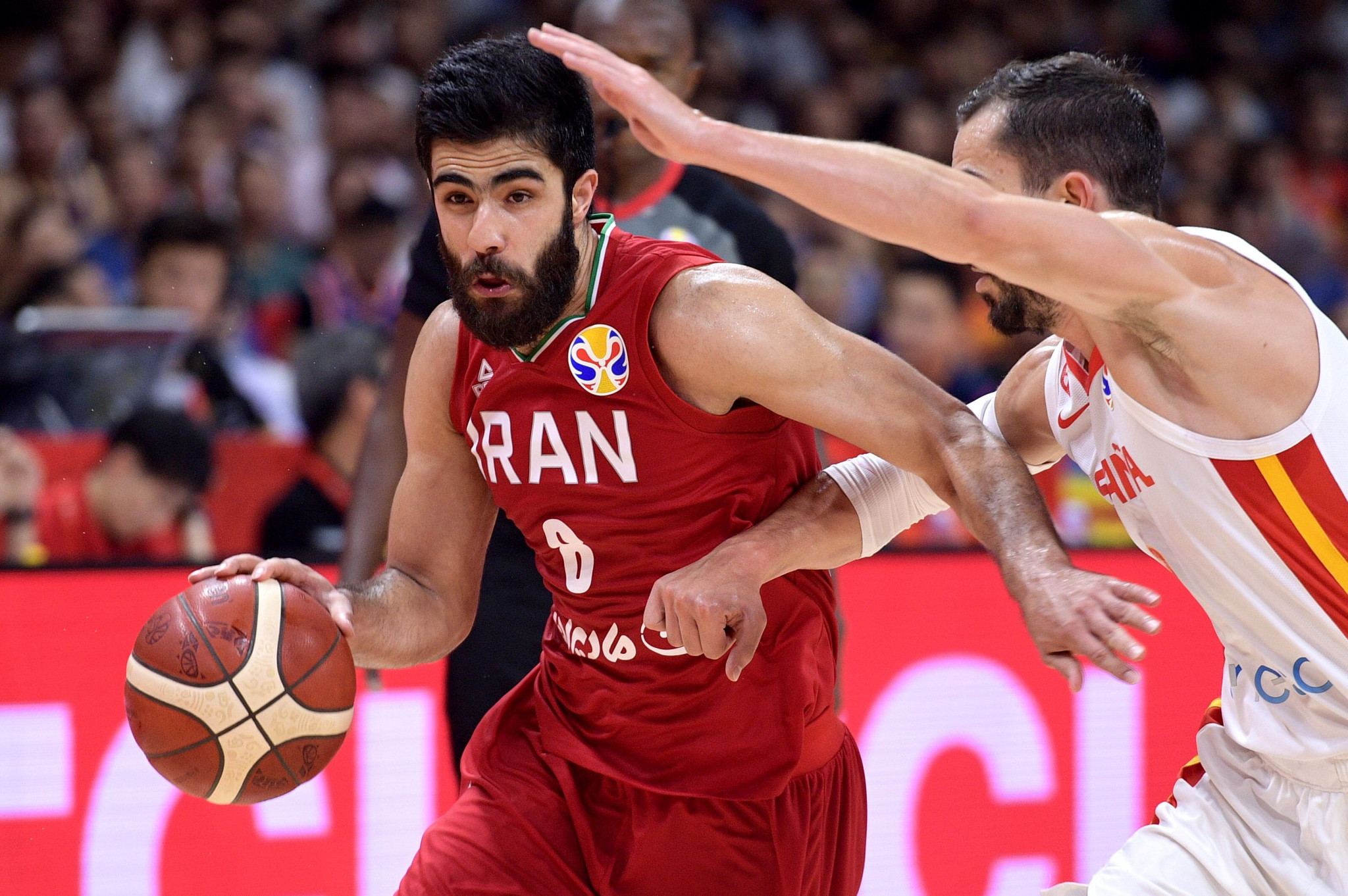 Iran lost to eventual champions Spain by only eight points at last year's World Cup ©Getty Images