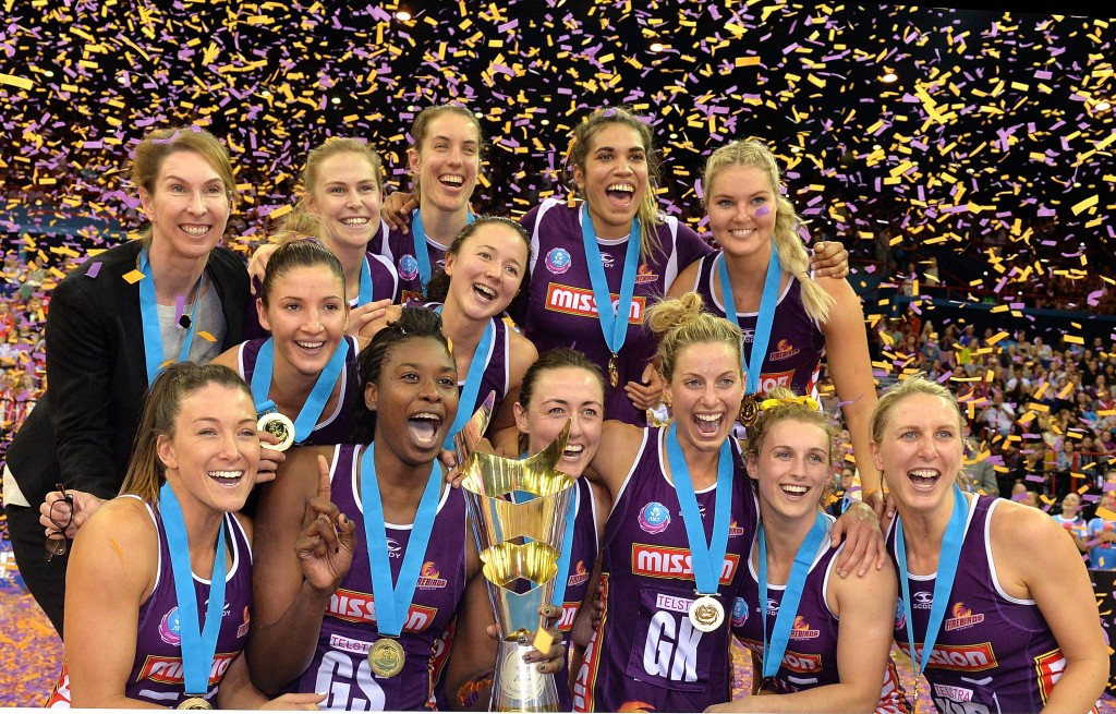Queensland Firebirds are the reigning ANZ Championships holders after beating New South Wales in the 2015 Grand Final