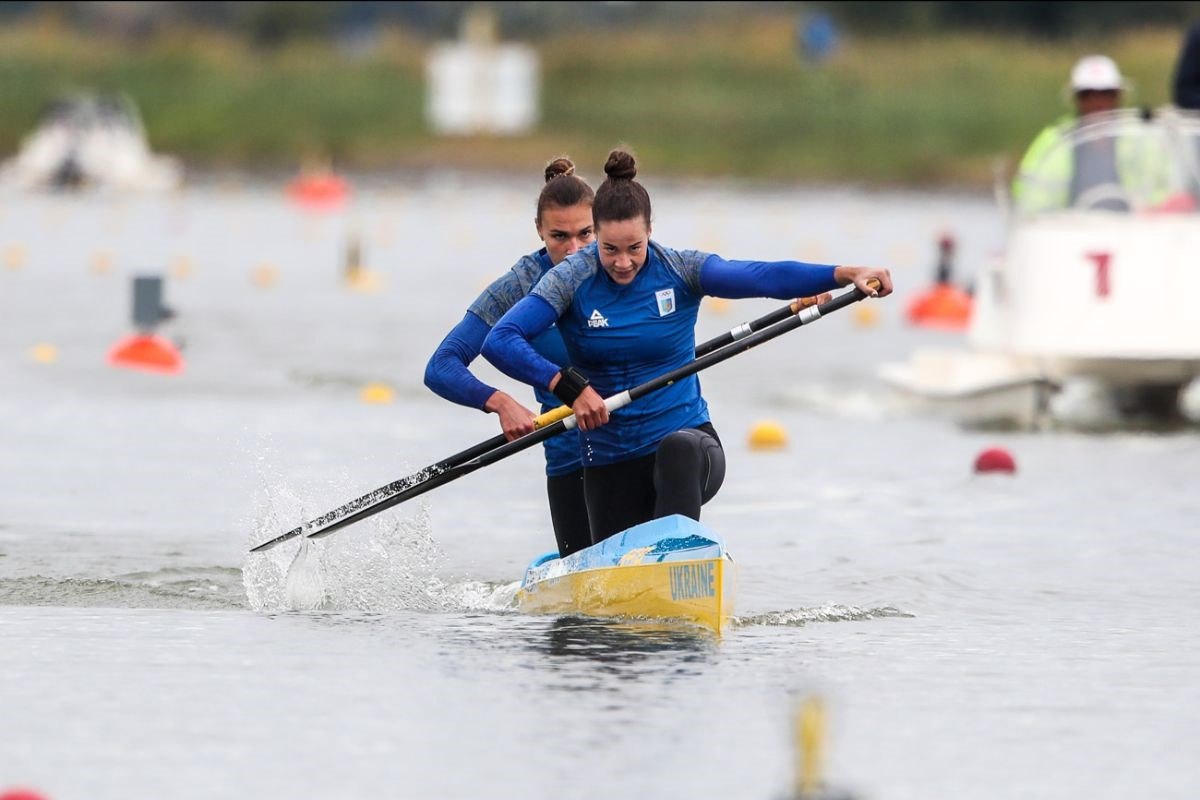 Luzan earns second gold medal at ICF Canoe Sprint World Cup