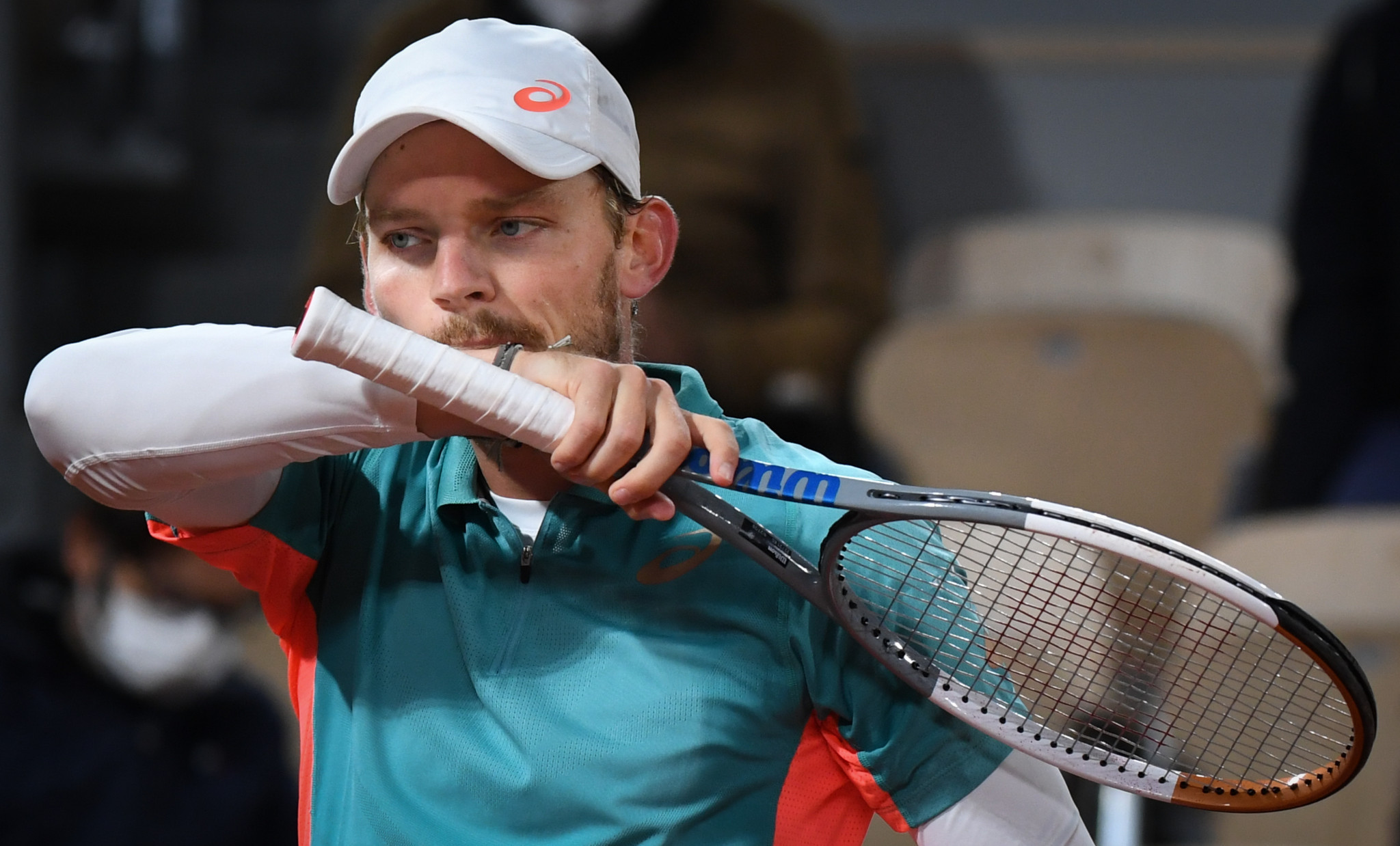 Belgium's David Goffin - seeded 11th - was shocked by Italian teenager Jannik Sinner and is the top-ranked casualty in the men's singles so far ©Getty Images