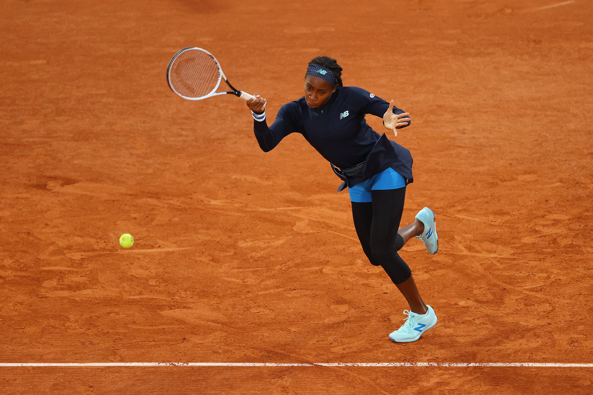 Coco Gauff was one of the big winners as the French Open got underway in Paris, defeating ninth seed Johanna Konta of Britain in straight sets ©Getty Images