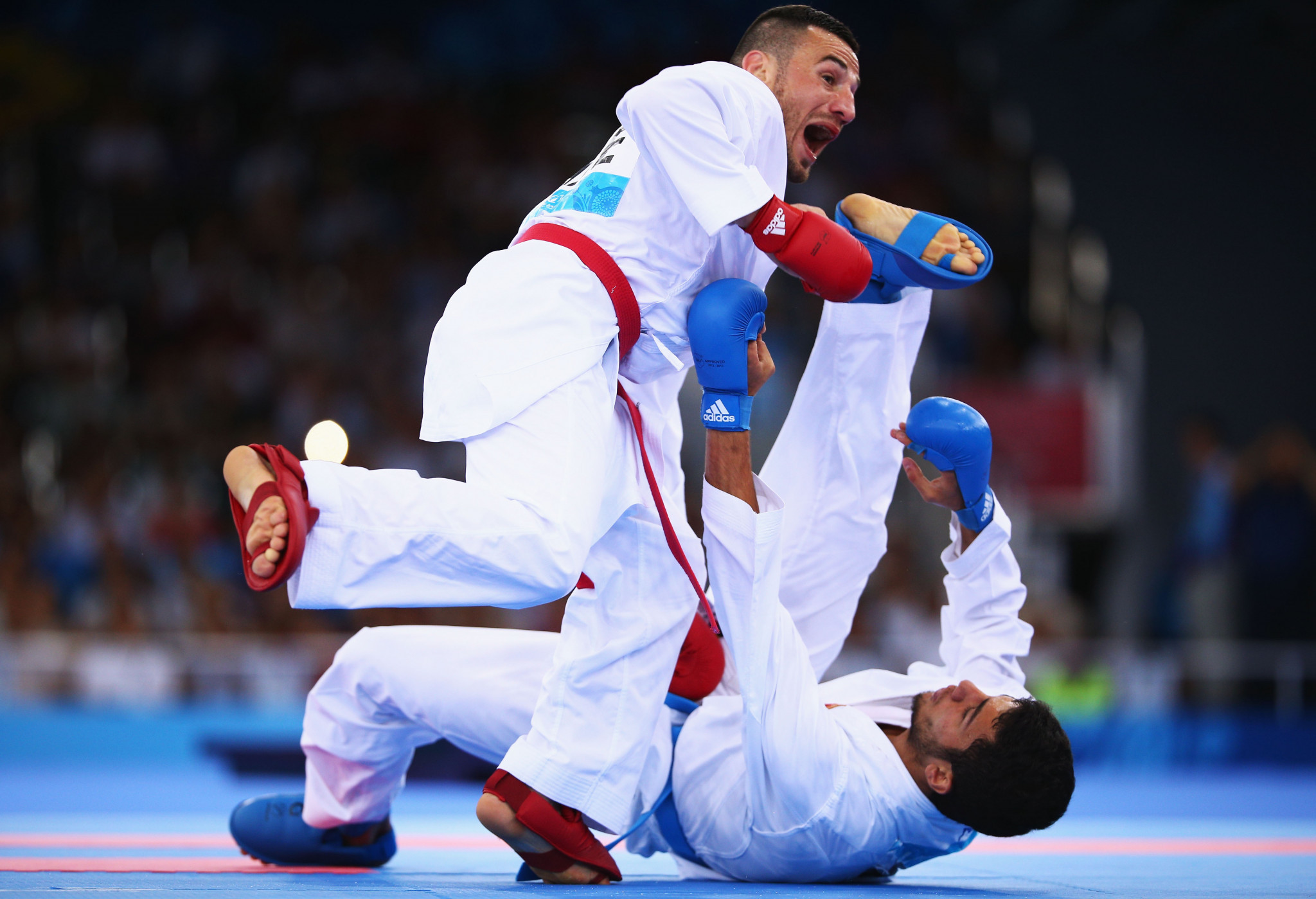 Karate has appeared at both previous editions of the European Games ©Getty Images
