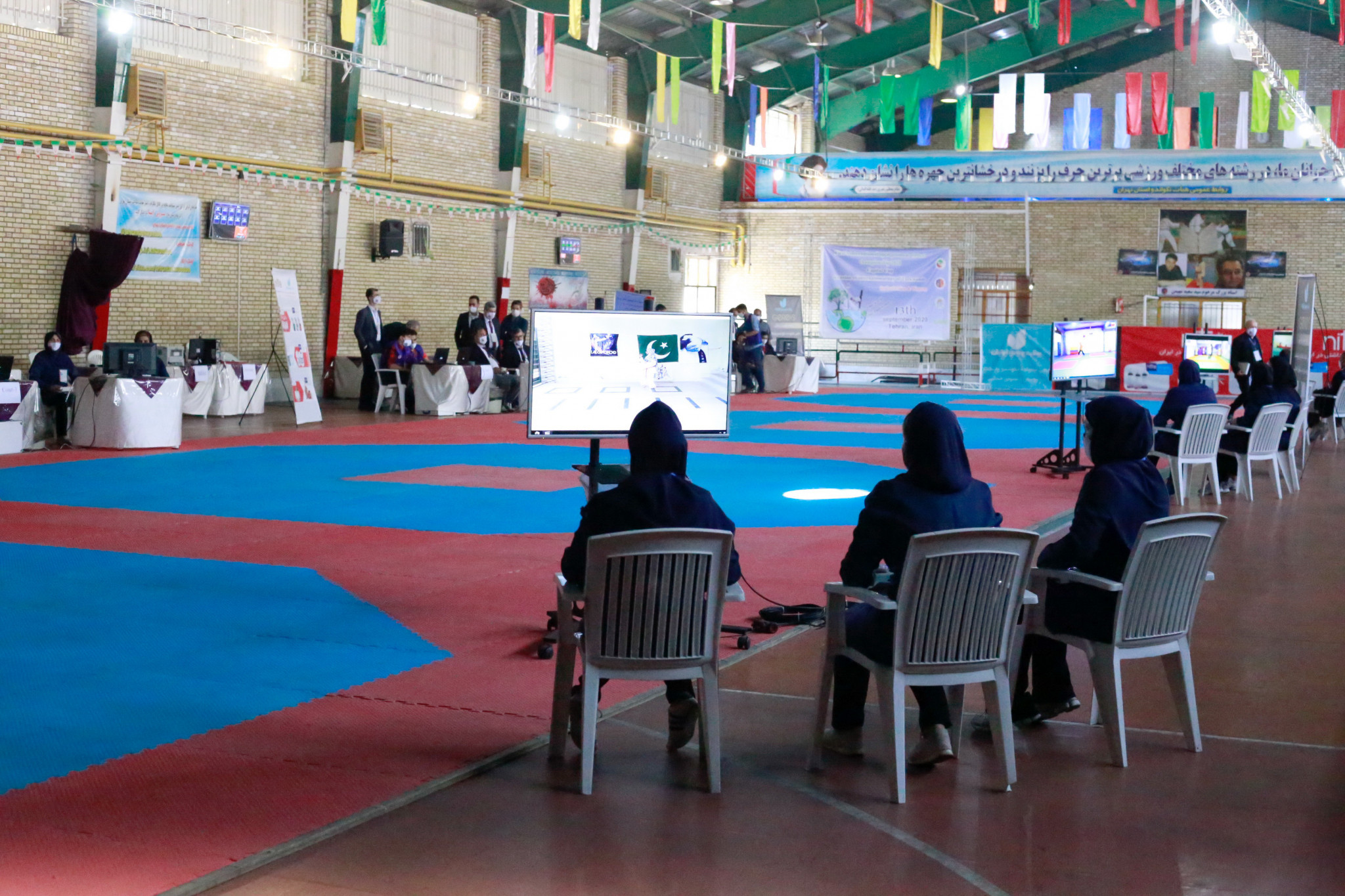 Iran hosted the Capital Cup event ©IRITF