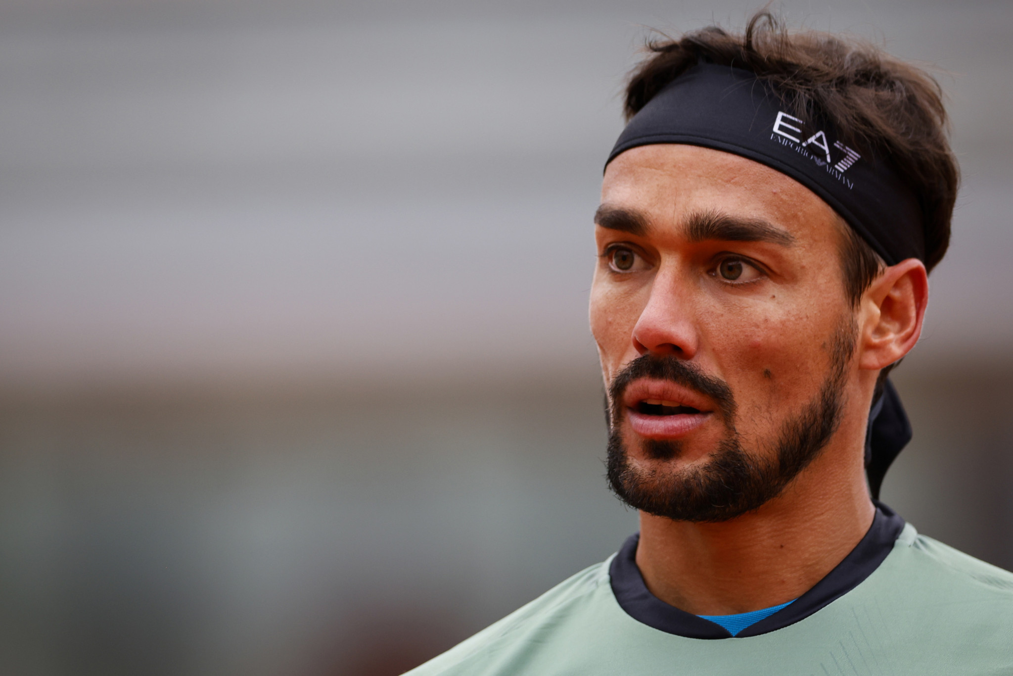 Italy's 15th seed Fabio Fognini continued his poor form since the tennis restart with a defeat to unseeded Kazakh Mikhail Kukushkin ©Getty Images