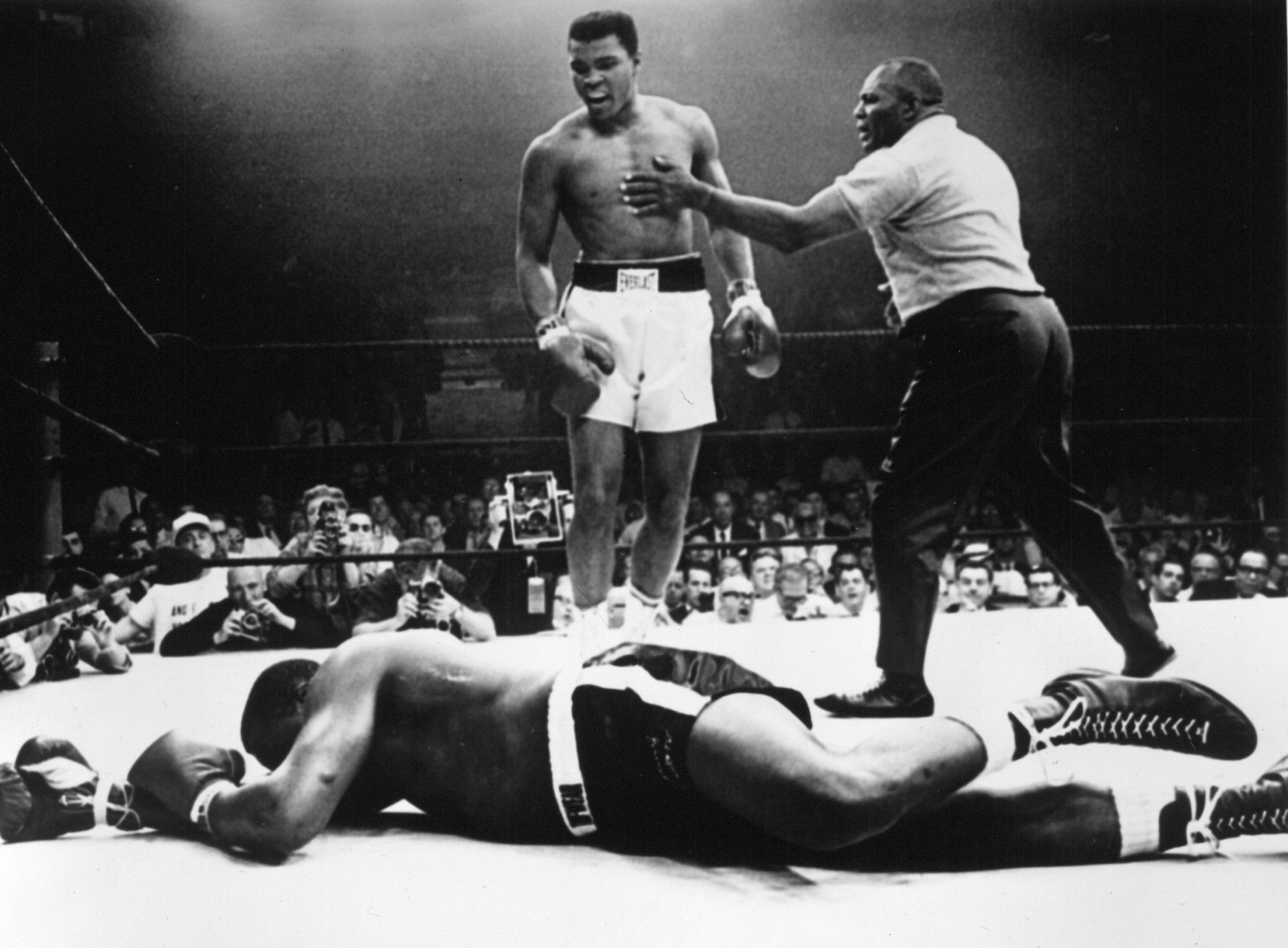 Sonny Liston famously went down after a
