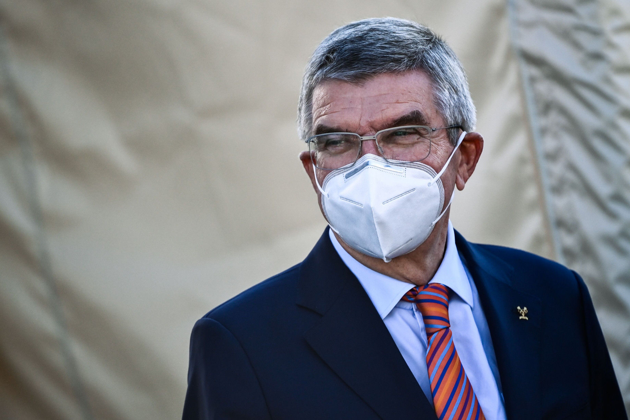 IOC President Thomas Bach revealed the successful staging of cycling events had given him confidence for Tokyo 2020 ©Getty Images
