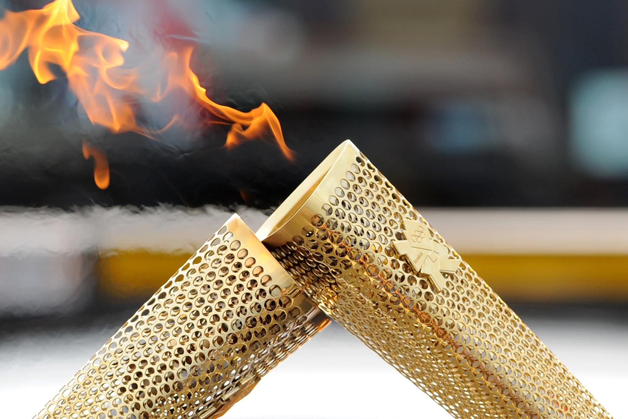 The British company that made the London 2012 Torch has gone into liquidation due to the coronavirus pandemic ©Getty Images