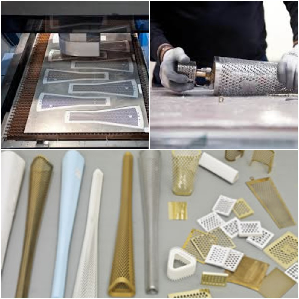 The London 2012 Torch was designed by Barber Osgerby and manufactured in Warwickshire ©Premier Sheet Metal