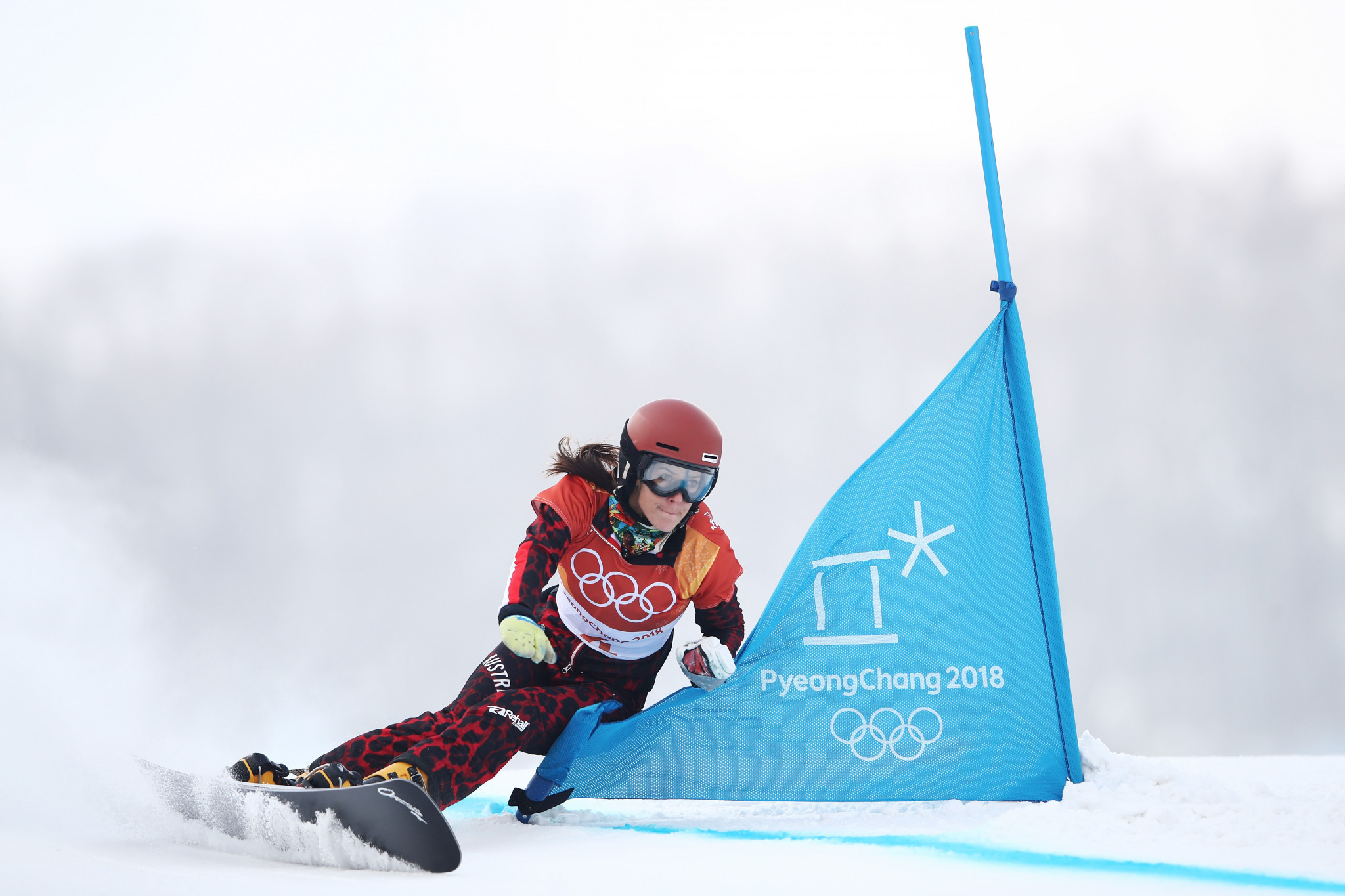 Julia Dujmovits had retired after Pyeongchang 2018 ©Getty Images