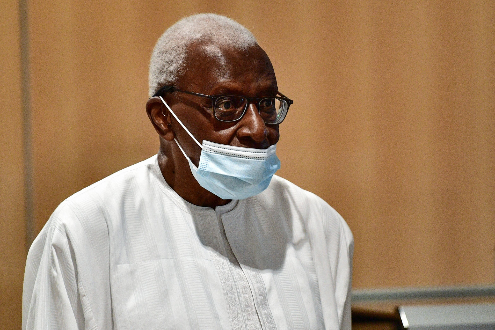 Former World Athletics President Lamine Diack was sentenced to two years in prison following an investigation into cover-ups of Russian doping cases for cash ©Getty Images