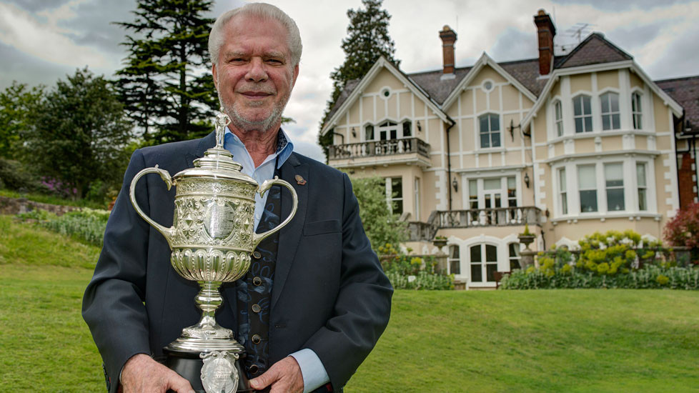 West Ham United co-owner David Gold bought the second edition of the FA Cup for £478,000 in 2005 ©Getty Images