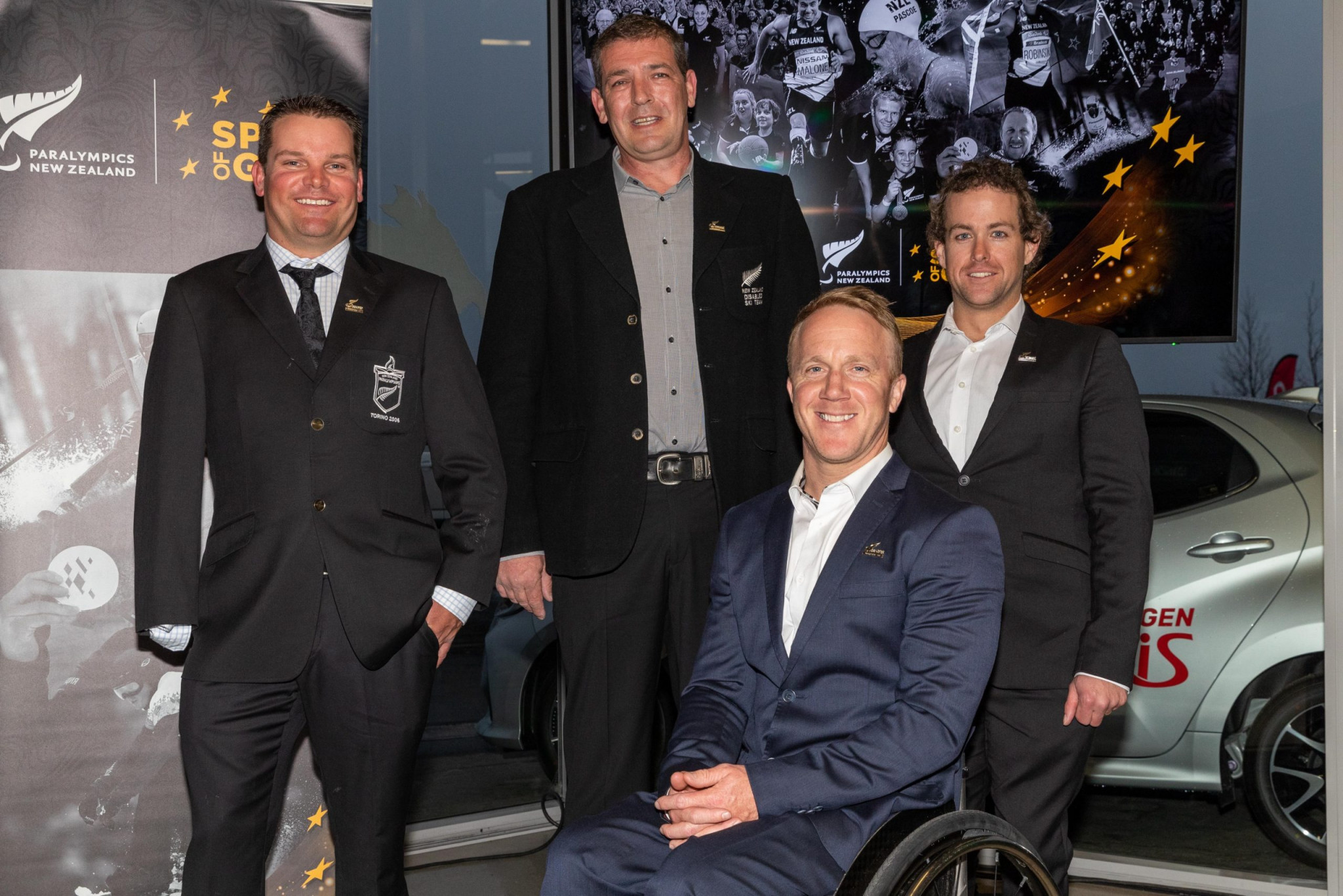 Paralympics New Zealand host official ceremony for four Paralympians