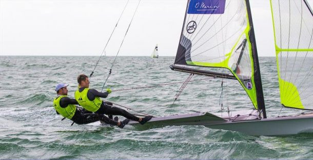 Fantela brothers lead European 49er Championships after opening day