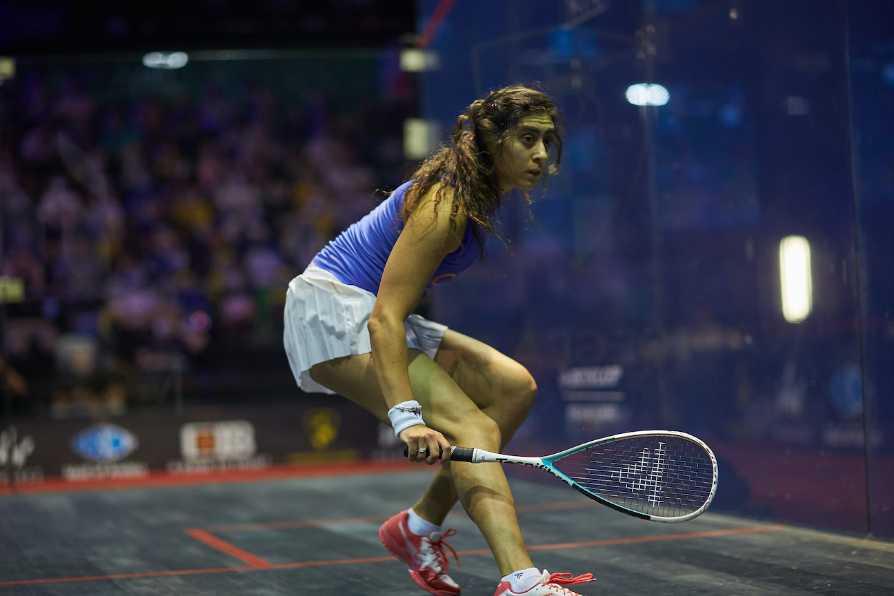 Egypt's Nour El Sherbini is set to defend her Squash World Championship title in Chicago in July ©Getty Images