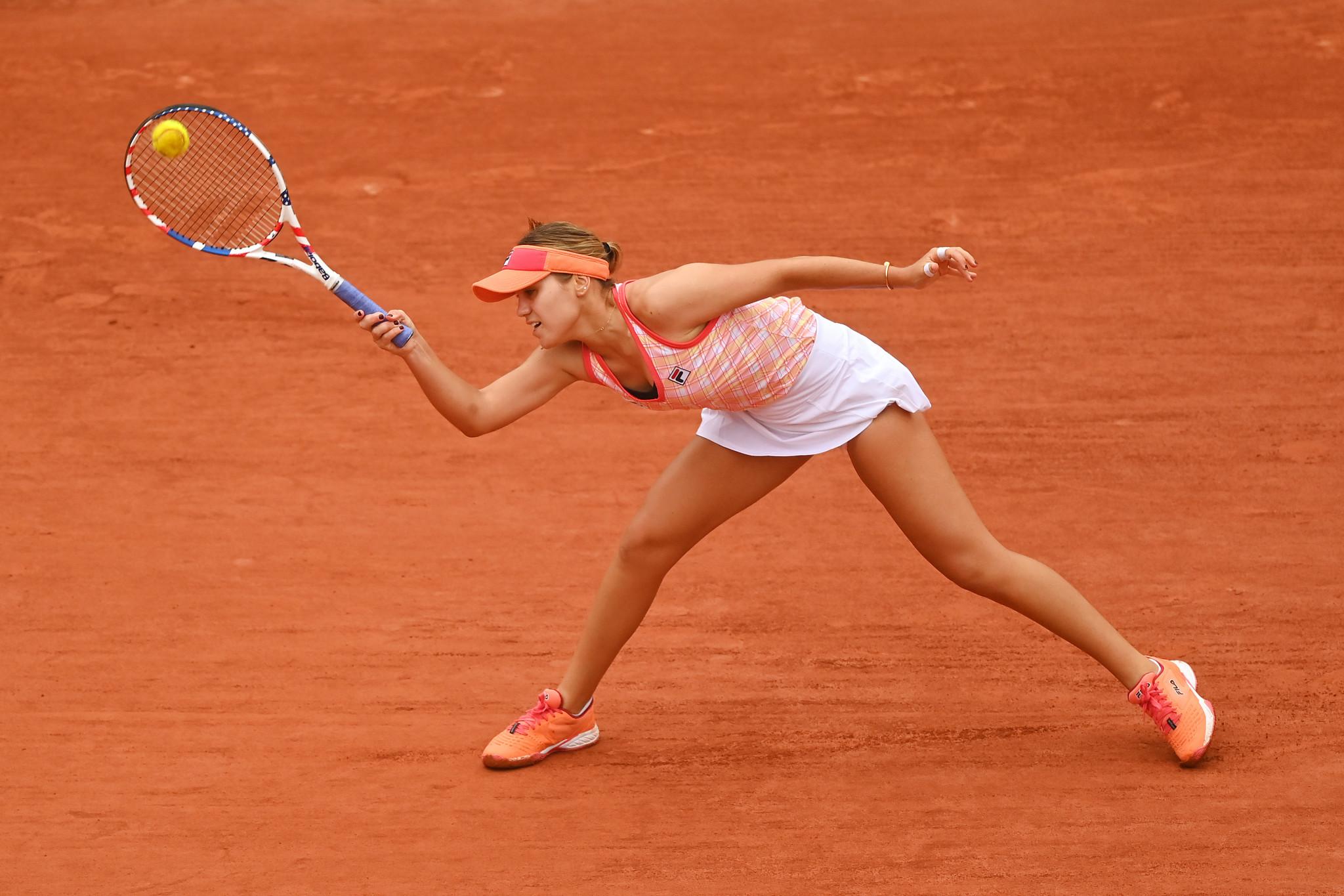 Fourth seed Sofia Kenin was taken to three sets before she overcame Bulgarian Ludmilla Samsonova ©Getty Images