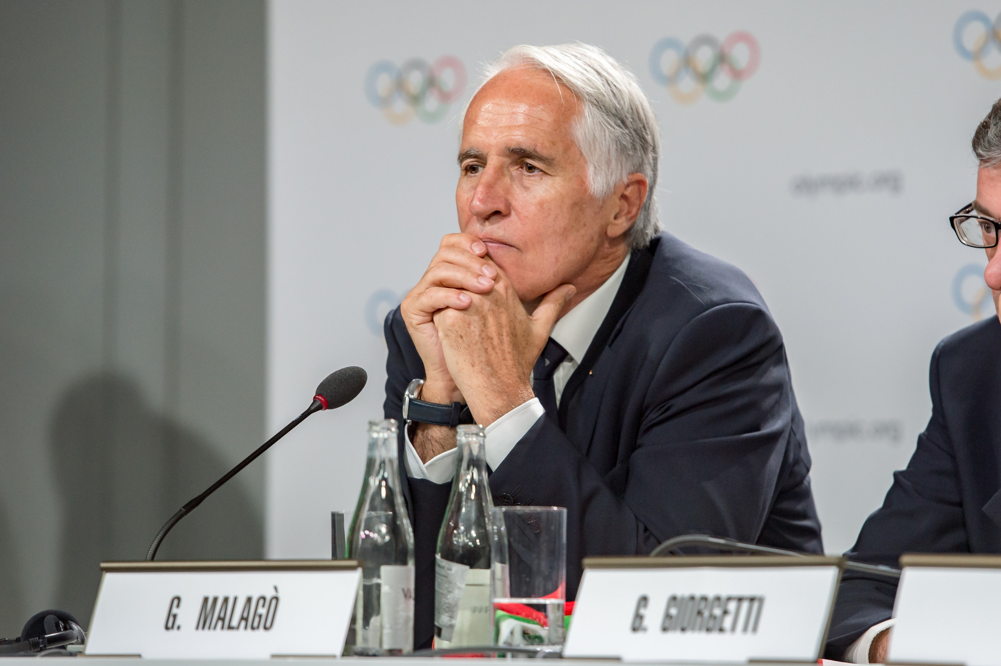 CONI President Giovanni Malagò has vowed to deliver an