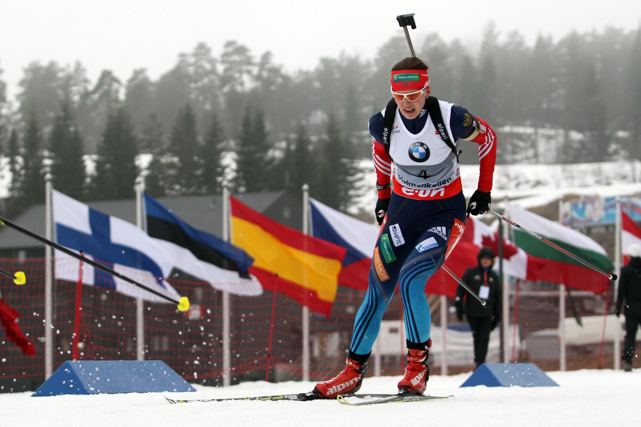 CAS overturned the life ban of Russian biathlete Olga Vilukhina last week ©Getty Images
