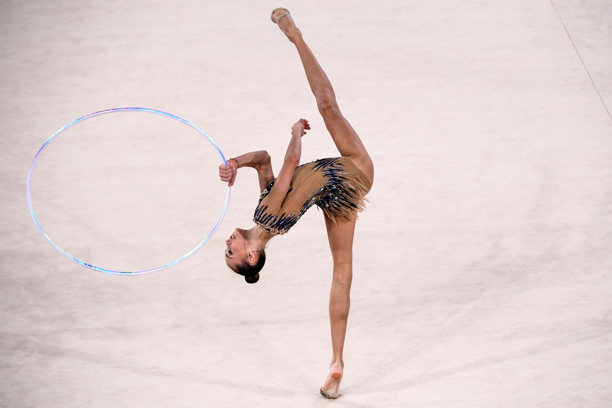 Russia will not attend the European Rhythmic Gymnastics Championships in November ©Getty Images