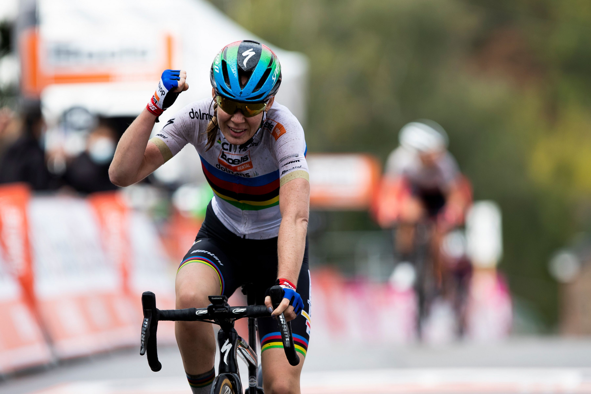 Van der Breggen wins sixth consecutive La Flèche Wallonne title