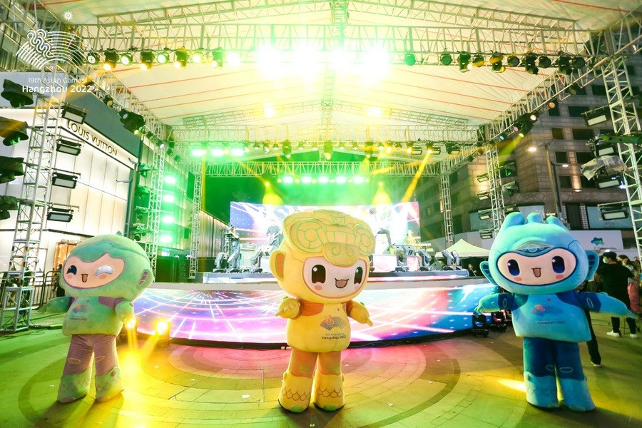 Hangzhou 2022 Asian Games releases masterplan for image use