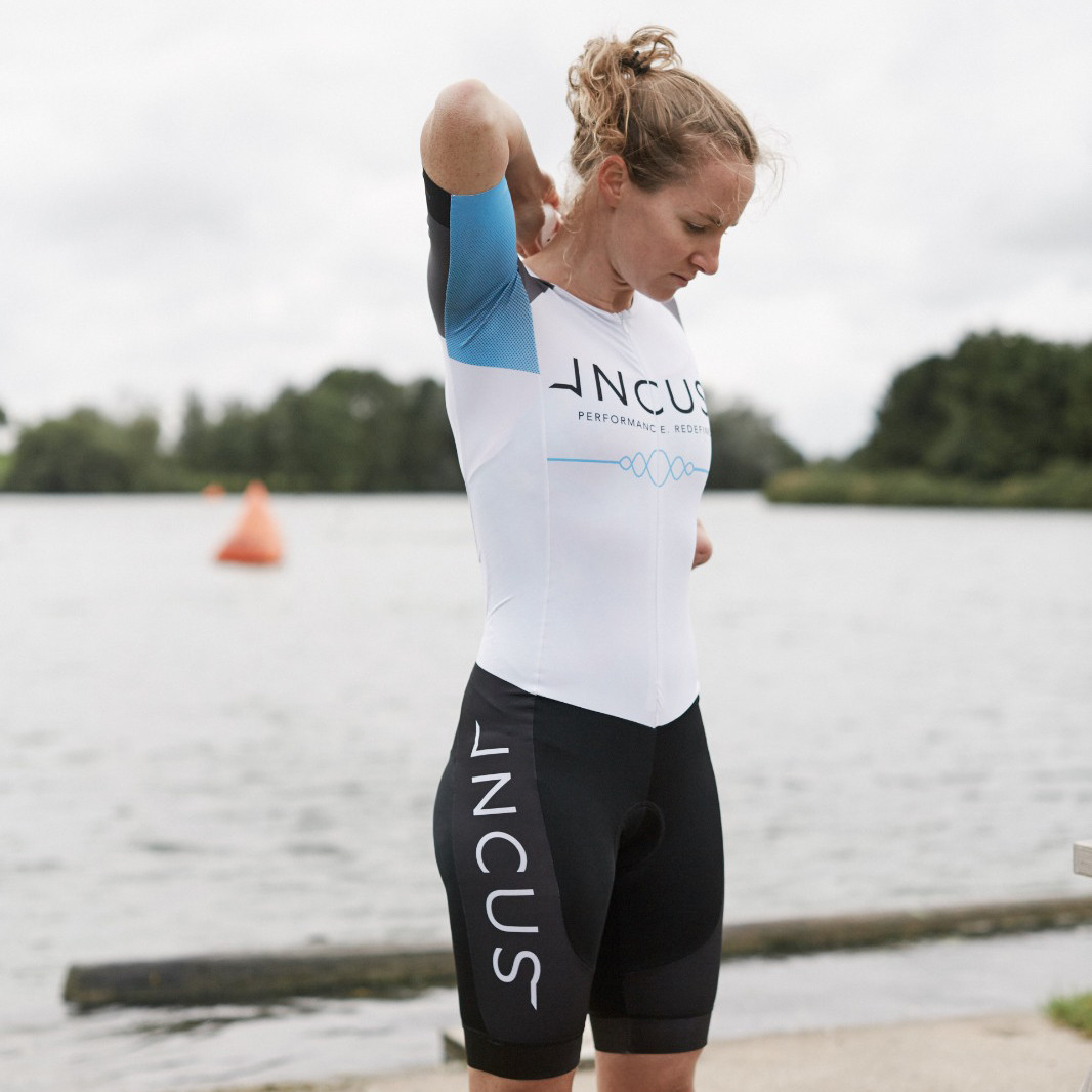 Claire Cashmore will use Incus's Nova device as part of their partnership ©Incus Performance