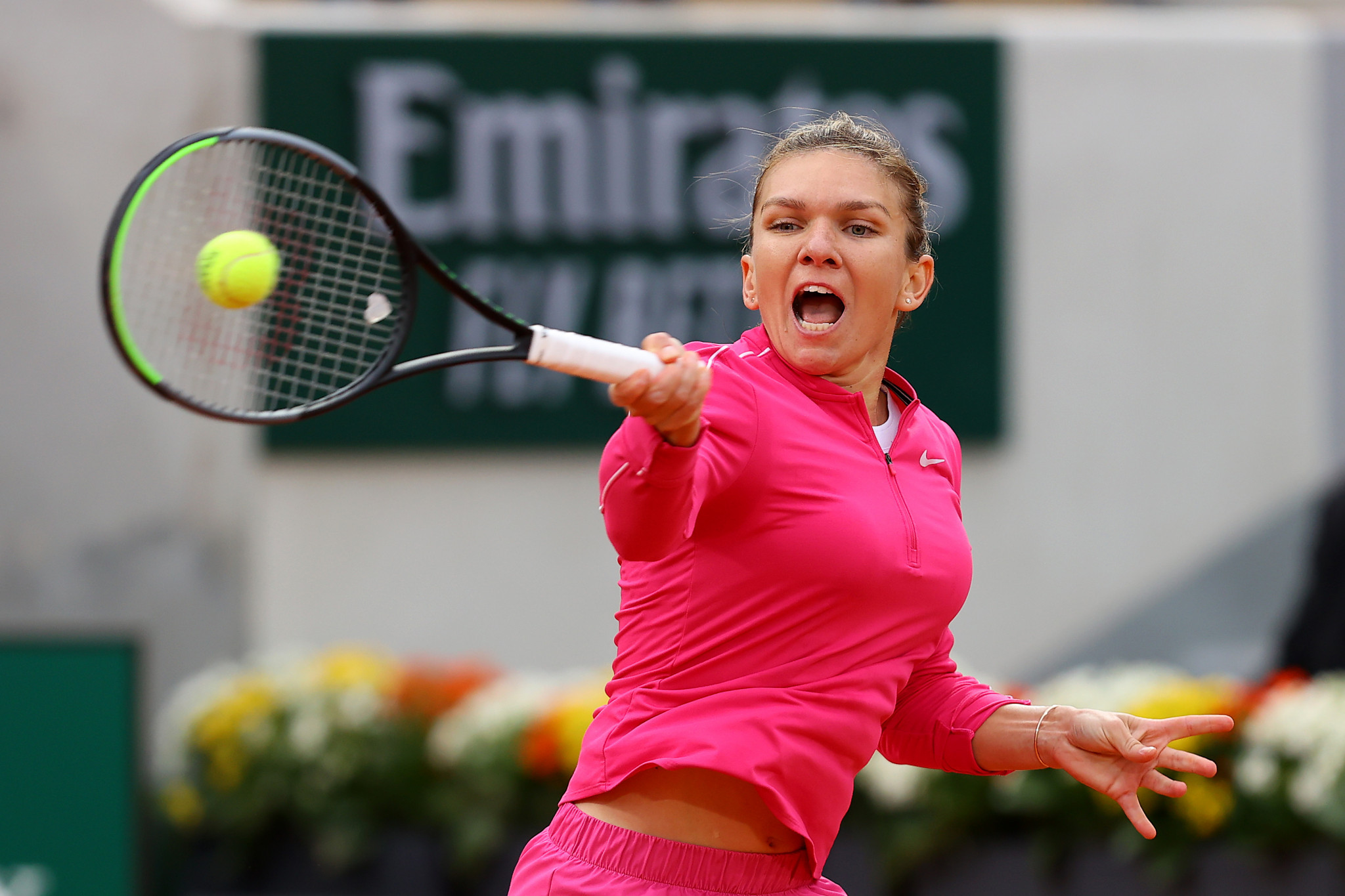 Nadal and Halep among winners as Williams withdraws on day four of French Open