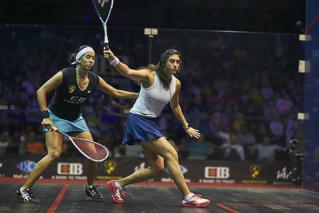 Women's top seed El Sherbini concludes group campaign unbeaten at PSA World Tour finals